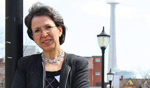 Professor Brenda McCabe, Civil Engineering Chair.