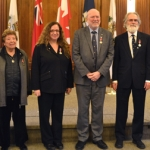 Engineering Professors Recognized with Queen Elizabeth II Jubilee Medal