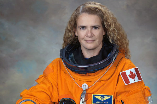 Astronaut Julie Payette