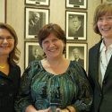 Dean Cristina Amon, Arlene Smith and Catherine Gagne