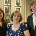 Dean Cristina Amon, Helen Bright and Catherine Gagne