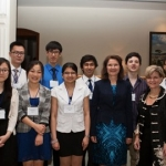 The CEIE's new 'Singapore Malaysia Alumni Room'