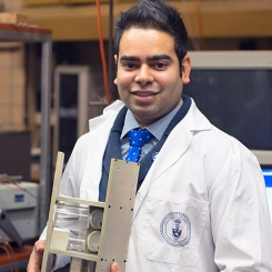 PhD graduate Aaron Persad is reaching for suborbital heights.