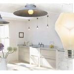 Nanoleaf lights in a kitchen