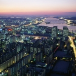 Photo of Seoul, Korea at night