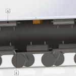 Rendering of a 'smart tank' rail car