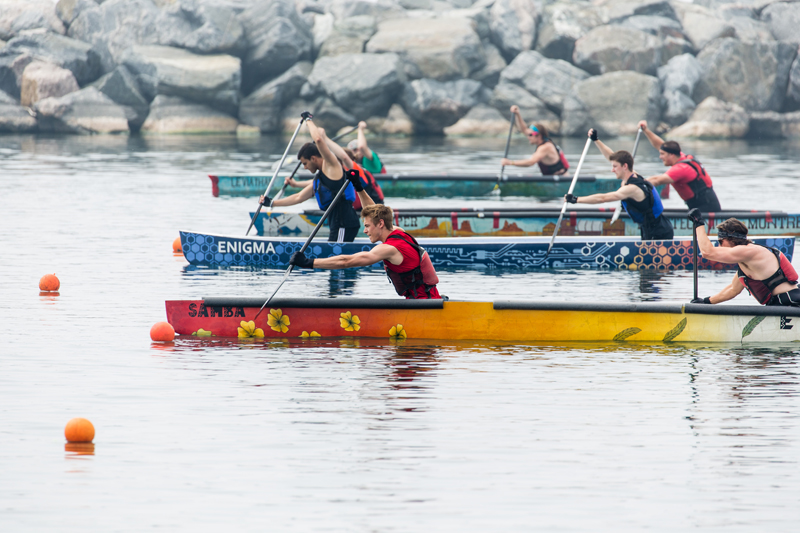 Students Participating In The 2015 Canadian National Concrete Canoe Competition CNCCC