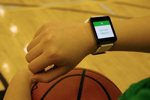 Onyx Motion's app, known as Swish, uses data from smart watches to help basketball players and other athletes improve their form (Photo: Onyx Motion).
