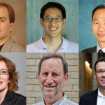 Professors Christopher Beck (MIE), Timothy Chan (MIE), Ben Liang (ECE), Heather MacLean (CivE), Paul Milgram (MIE) and David Sinton (MIE)