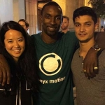 Marissa Wu, Ben Gordon and Dipesh Mistry