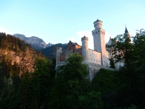 Neuschwanstein Castle in Bavaria, one of the many places Cullen Adam visited during his research exchange in Germany. (Photo: Cullen Adam)