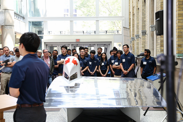 Horizon, the 8th generation solar vehicle created by the Blue Sky Solar Racing Team