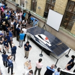 Blue Sky Solar Racing team reveals new solar-powered vehicle Horizon