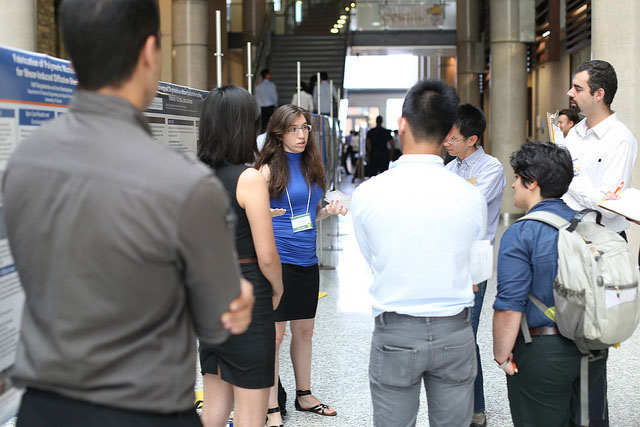 Students at Undergraduate Engineering Research Day (UnERD)