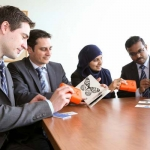 Talking stickers: U of T Engineering alumni enter finals for Hult Prize