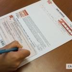 Canada census form