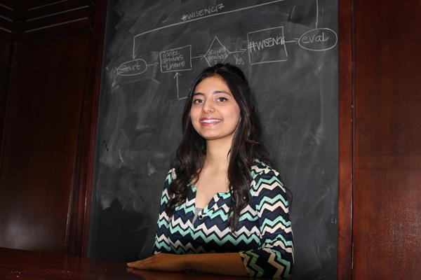 WISE President Amreen Poonawala.