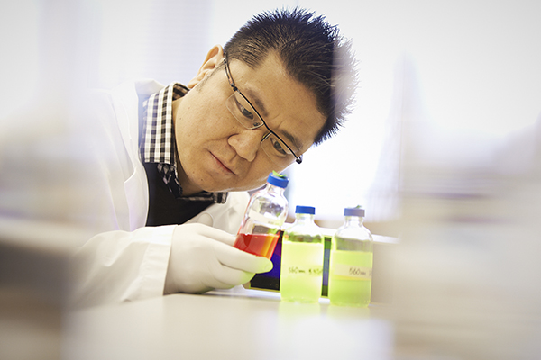 Professor Warren Chan. (credit: NSERC)
