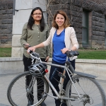 Clean air map from U of T Engineering researchers helps cyclists avoid air pollution
