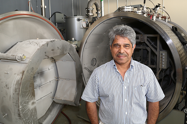 Professor Javad Mostaghimi (MIE) has been elected a fellow of the Royal Society of Canada, one of the highest honours a Canadian researcher can achieve. (credit: Tyler Irving).