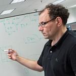 Professor Jonathan Rose and students. (Credit: Engineering Strategic Communications)