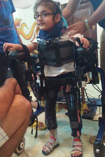 Trexo is a robotic exoskeleton designed to assist with the physiotherapy needed by children with physical disabilities.