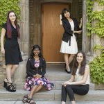 U of T Engineering welcomes four global Pearson scholars