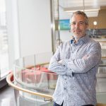 U of T Engineering professor Brendan Frey is the founder and CEO of Deep Genomics, a startup company applying deep learning techniques to revolutionize genomic medicine. The company is now applying its platform to accelerate the development of genetic medicines that could be used to treat disorders of the eye, liver and central nervous system. (Courtesy: Deep Genomics).