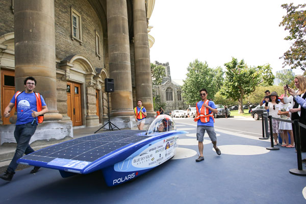 Polaris solar vehicle
