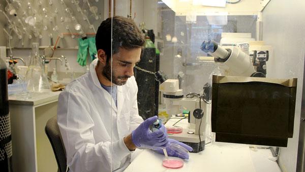 IBBME PhD candidate Alexander Vlahos