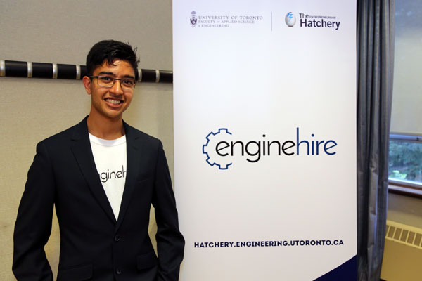 Aakash Goel, of enginehire