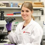 She was born with heart defects. Now she's researching a cure