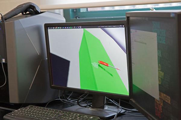 Sullivan is designing a VR version of the pipette.(Photo: Romi Levine)