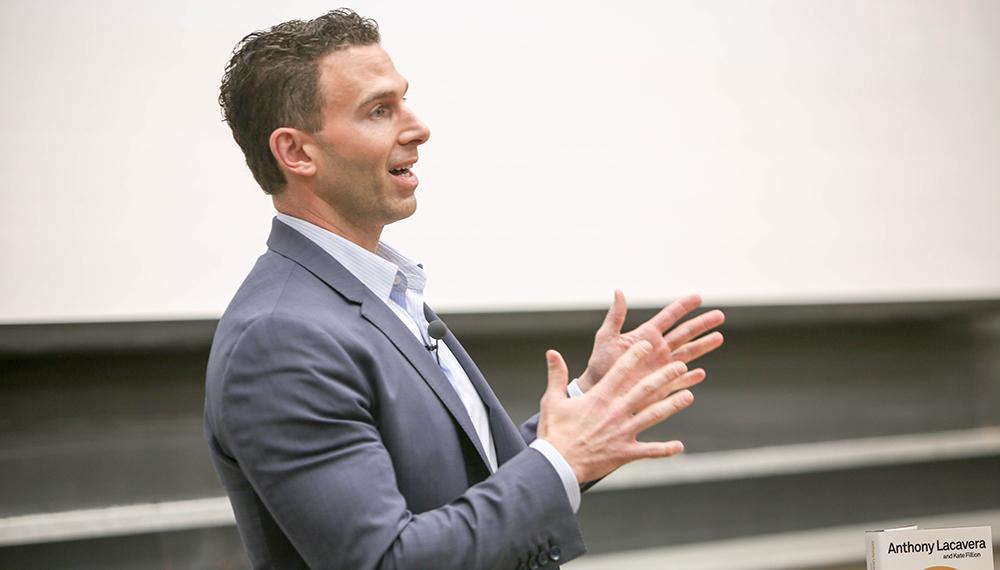 Anthony Lacavera speaking