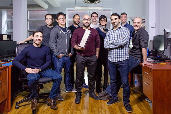 Kepler Communications, an award-winning team launched out of U of T Engineering accelerators Start@UTIAS and the Entrepreneurship Hatchery.