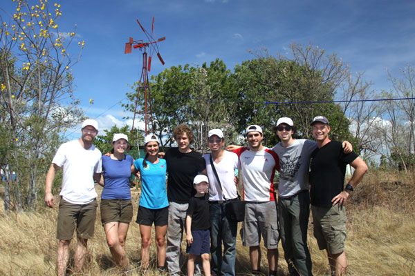 U of T Engineering students partnered with the Winds of Change initiative and community members in Pedro Arauz, Nicaragua to build a windmill to pump water for agricultural irrigation. A new initiative is expanding such projects to a range of undergraduate and graduate courses. (Photo: Rob Scott)