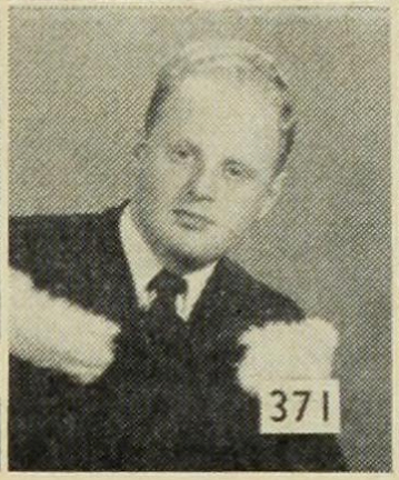 Peter Munk's 1952 graduation photo. As a student in electrical engineering, Munk served as Vice-President of Student Co-op Sales for the University of Toronto Students' Administrative Council.