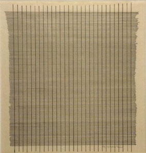 Untitled, Agnes Martin, 1960