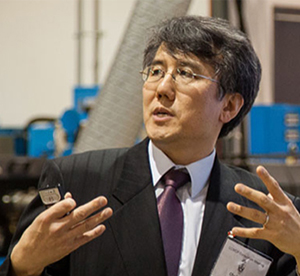 Professor Chul Park (MIE) is an expert in microcellular plastics. His new partnership with NanoXplore will create graphene-polymer composites with new properties, such as thermal and electrical conductivity. (Courtesy Chul Park).