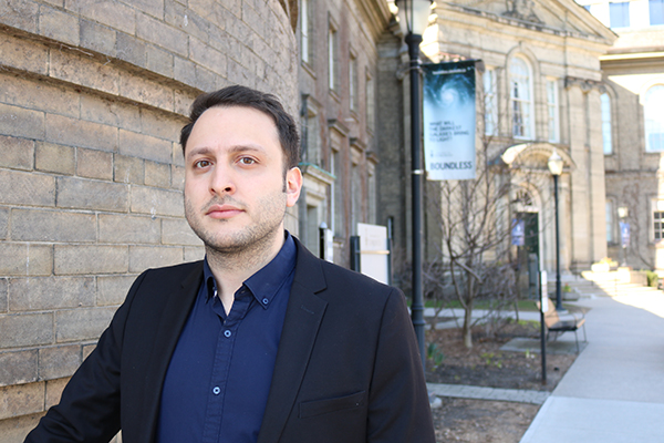 CivE PhD Candidate Pedram Mortazavi was one of just five recipients from more than 550 nominated teaching assistants from across the University of Toronto. (Credit: Keenan Dixon).