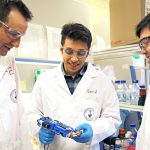 U of T Engineering researchers develop handheld 3D skin printer