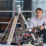 Professor Steven Waslander (UTIAS) joined the University of Toronto on May 1, 2018. He is a leading expert in control systems for aerial and terrestrial robotics. (Courtesy: Steven Waslander)
