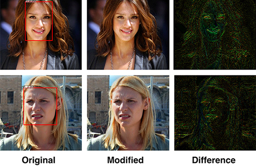Researchers in U of T Engineering have designed a 'privacy filter' that disrupts facial recognition algorithms