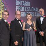 Ontario Professional Engineers Awards gala celebrates four U of T Engineers