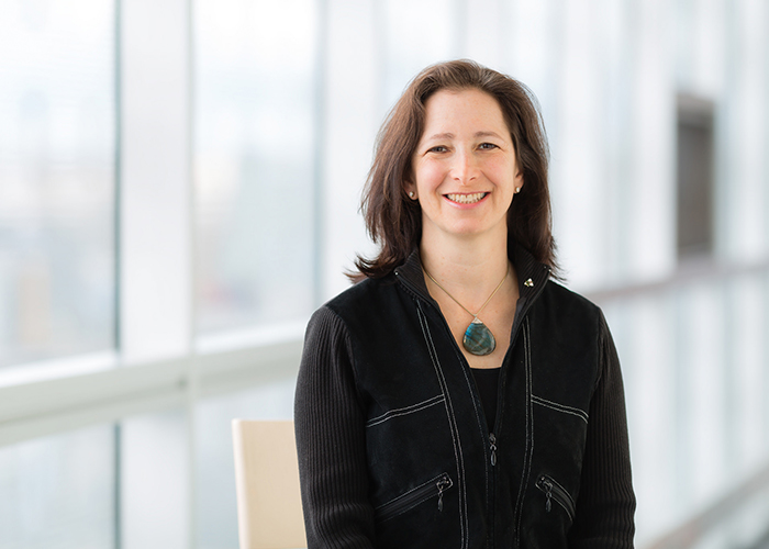 University Professor Molly Shoichet (ChemE, IBBME) was recently named a 2019 Distinguished Woman in Chemistry or Chemical Engineering by IUPAC. (Credit: Neil Ta)