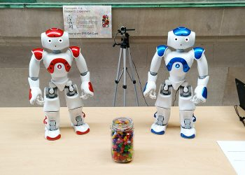 Image link to U of T Engineering researchers explore what makes robots 'persuasive' to humans