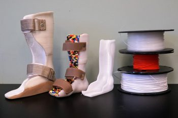 Image link to How 3D printing has sped up prosthetic development for people around the world