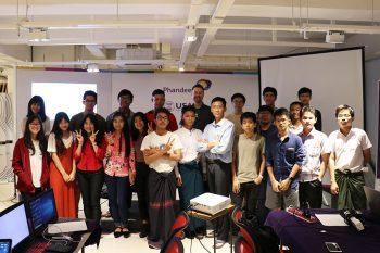 Image link to 'Knowledge is transformative': UTIAS professor teaches robotics in Myanmar