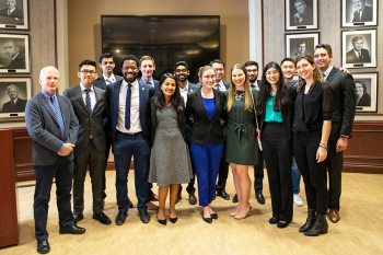 Image link to U of T Engineering celebrates student leadership with 18 Cressy Awards