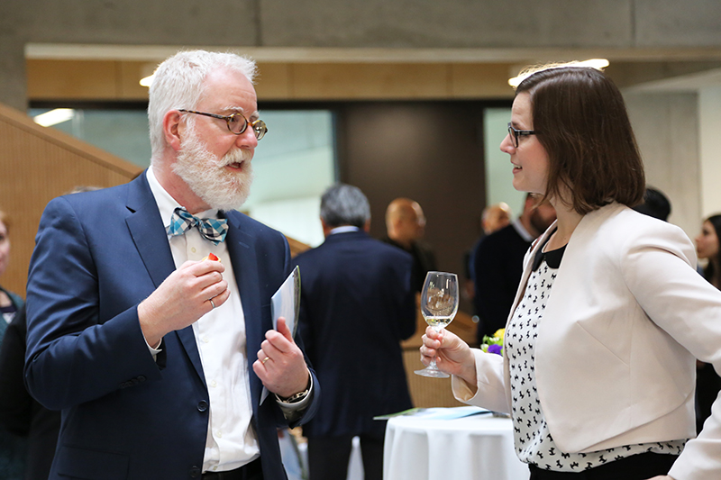 The celebration recognizes U of T Engineering faculty and staff as well as those who received awards and major research grants over the past year. (Photo: Liz Do)